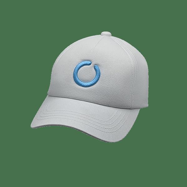 White 5 panel UPF 50+ hat