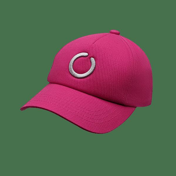 Fuchsia 5 panel UPF 50+ hat