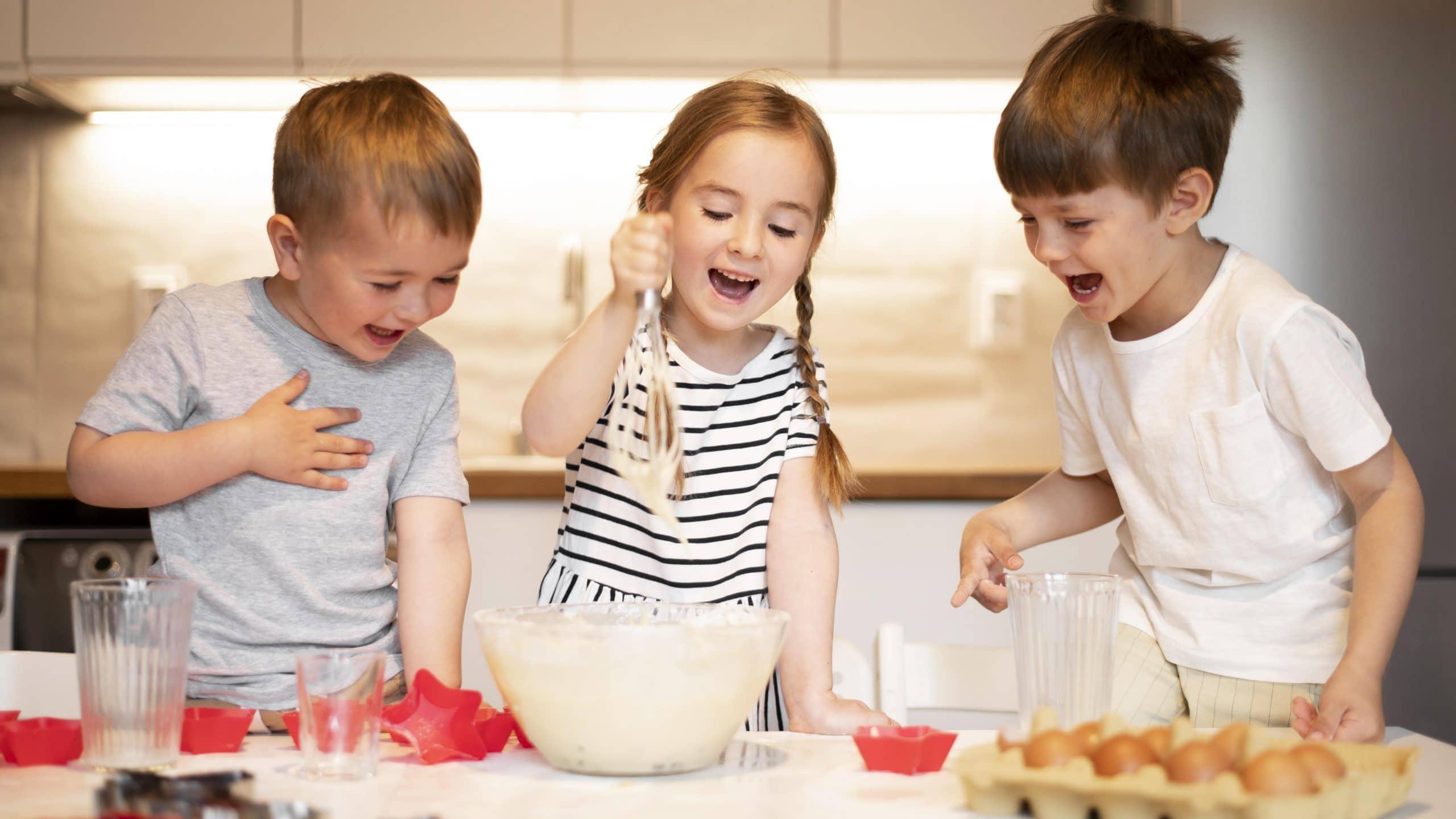cocinar actividades para hacer con niños